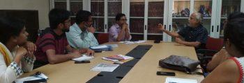 Meeting on Coordination of cGanga with IIT Delhi