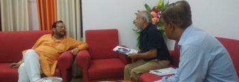 Meeting with Mr Suresh Kumar Khanna