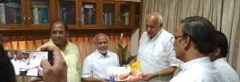 Honorable Minister Mr Surya Pratap Sahi at IIT Kanpur
